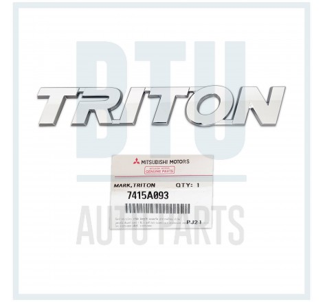 REAR TRITON MARK / EMBLEM...